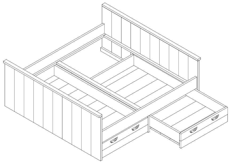 Doppelbett bauen