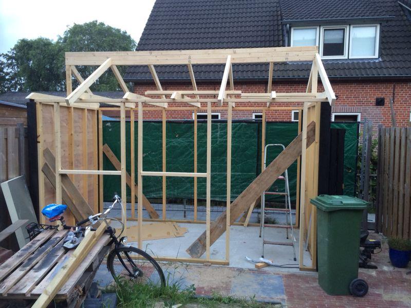 Frame Gartenhaus selber bauen