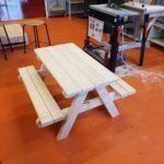 Einen Outdoor Picknicktisch selber bauen ist einfach (auch für Do-it-yourself Anfänger)