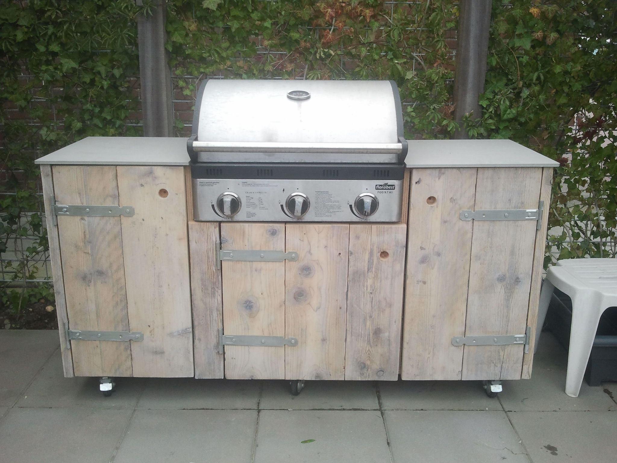 gartenküche bauen