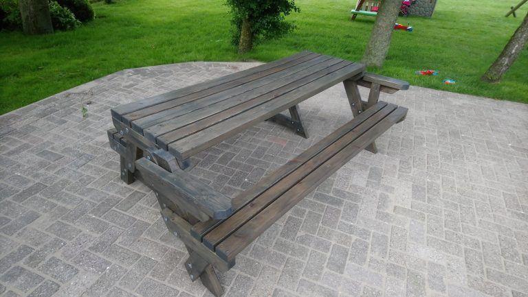 Picknicktisch klappbar selber bauen